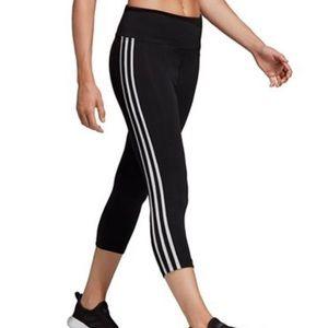 NWT Adidas Climate Cropped Leggings